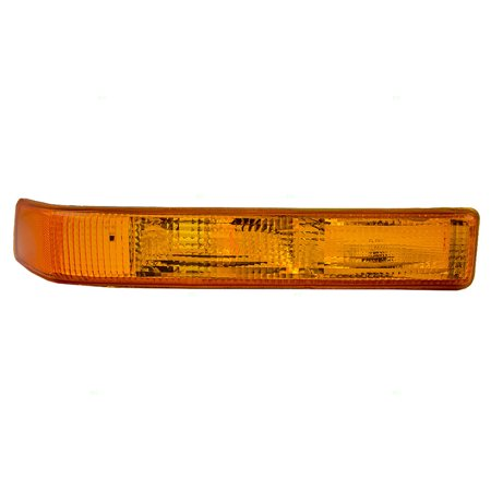 Passengers Park Signal Front Marker Light Replacement for Chevrolet GMC SUV Pickup Truck 15098268 (Gmc Front Light)