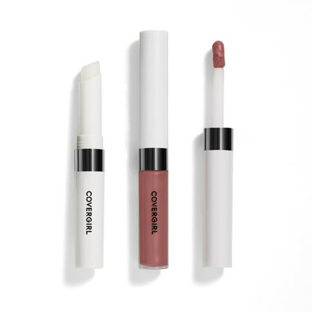 Covergirl Outlast All-Day Lip Color With Topcoat, Natural Blush Cover Girl Outlast All Day Lip Color