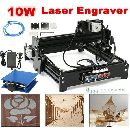 10W USB Desktop CNC Laser Engraver DIY Marking Machine For Metal Stone Wood - Word Stones