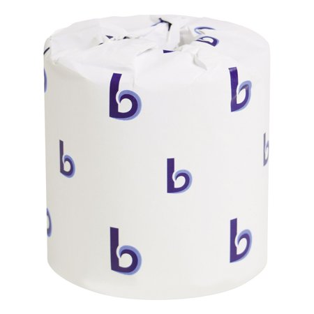 Product of Boardwalk Economy Bath Tissue, 2-Ply (500 Sheets, 96 Rolls) - Toilet Paper [Bulk Savings] (Paper Products In Bulk)