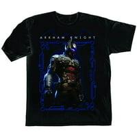 DC Comics Batman Arkham Knight Villains Mens Black T-Shirt | L