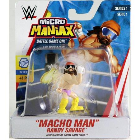 Macho Man Randy Savage Costumes (Macho Man Randy Savage - WWE Micro Maniax Series)