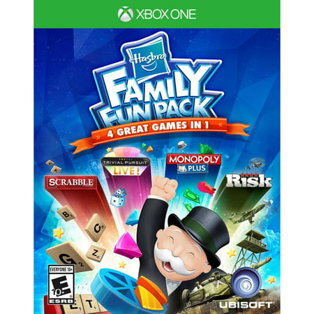Hasbro Family Fun Pack, Ubisoft, Xbox One, 887256015367