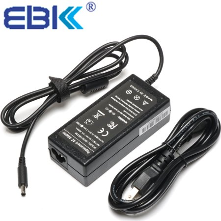 EBK 19.5V 3.34A 65W AC Adapter Charger Power Supply Fit For MGJN9, 0MGJN9, 0G6J41, G6J41, DA45NM131, LA45NM131, 43NY4,A065R073L, 5NW44, 74VT4, 332-0971, 05NW44, 074VT4