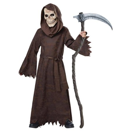 Morris Costume CC00520LG Ancient Child Reaper Costume, Large - Ancient Rome Costumes