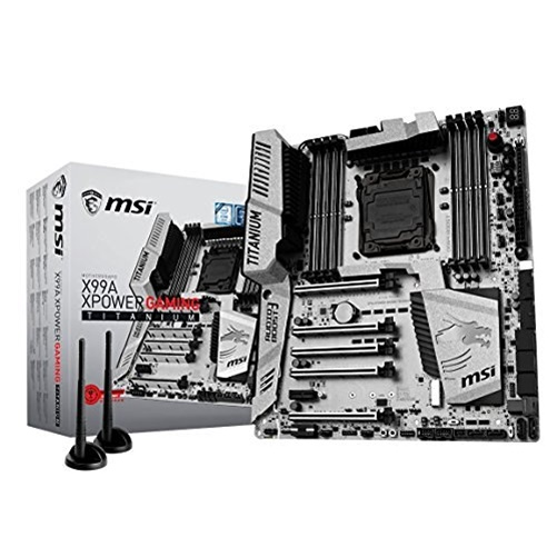 MSI X99A XPower Gaming Titanium EATX Motherboard w  Intel X99 Chipset by MSI