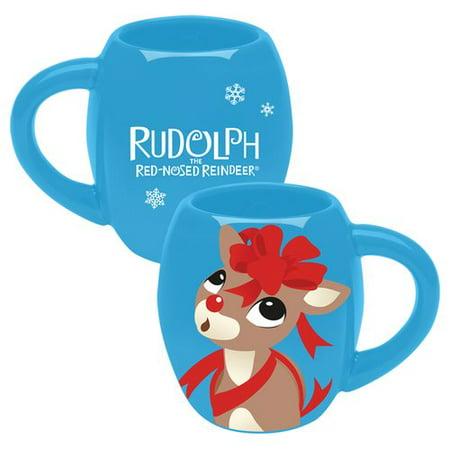 Vandor LLC Rudolph Ceramic Oval Coffee Mug