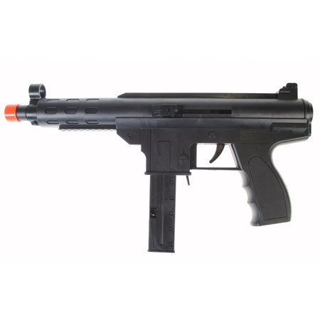 250 FPS - Dark Ops Airsoft Spring Mini Tec9 Tactical Airsoft Gun Rifle + 6mm (Ops Commando Air)