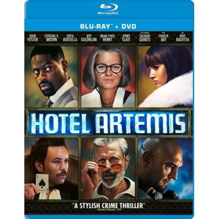 Hotel Artemis [Blu-ray/DVD] [2018]