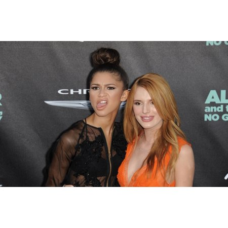 Photo Horrible D'halloween (Zendaya Bella Thorne At Arrivals For Alexander And The Terrible Horrible No Good Very Bad Day Premiere El Capitan Theatre Los Angeles Ca October 6 2014 Photo By Dee CerconeEverett)