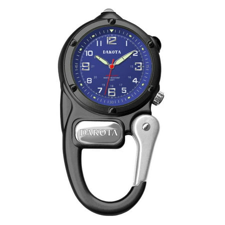 Black Mini Clip Microlight Watch 3802-2 ()