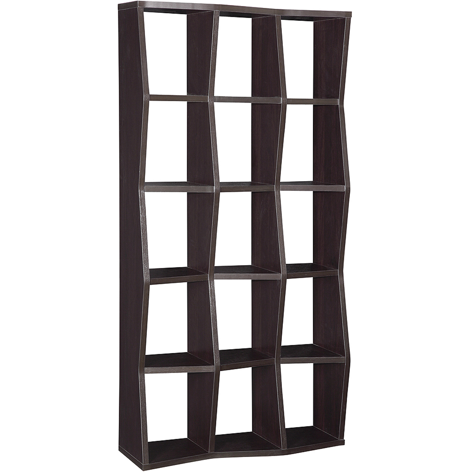 Coaster Backless Bookcase, Cappuccino by Coaster Company