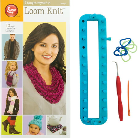 Boye I Taught Myself to Loom Knit Kit, 1 Each