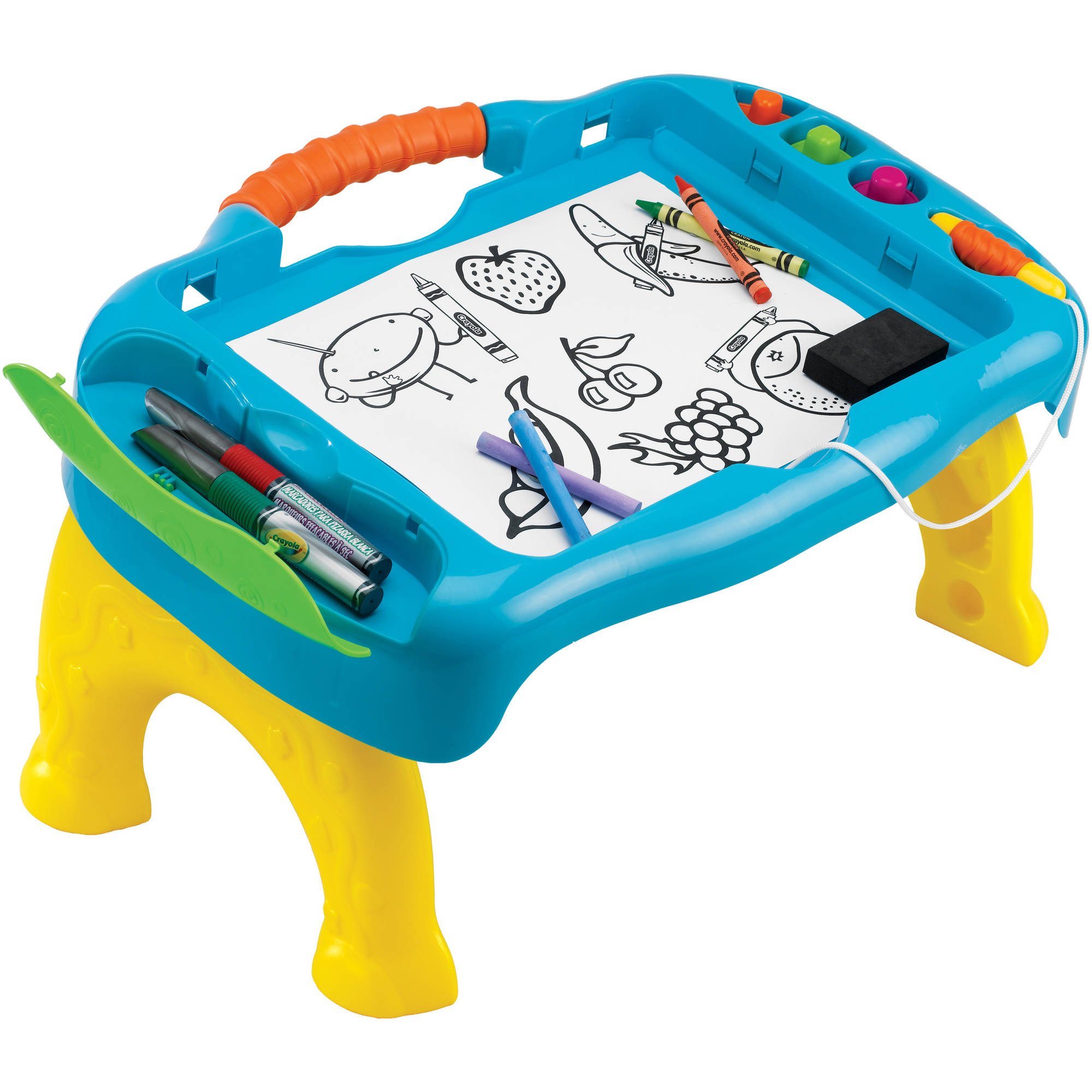 Worksheet Crayola Draw Online crayola sit n draw travel table walmart com