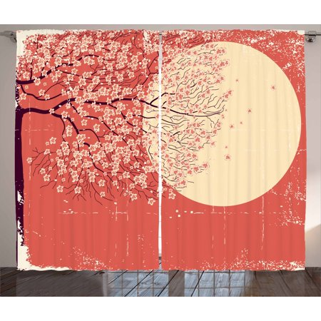 5a1eebcd072 Spring Curtains 2 Panels Set