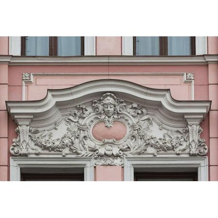 Romania, Transylvania, Brasov, Romanian National Bank Building Print Wall Art By Walter Bibikow ()