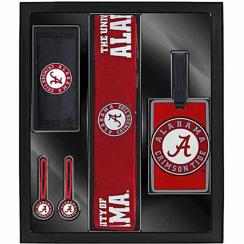 Aminco Sports 5-Piece Travel Box Set, Alabama