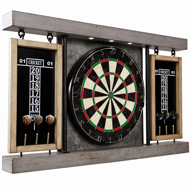 Barrington 40 Prescott Collection Bristle Dartboard Cabinet Set
