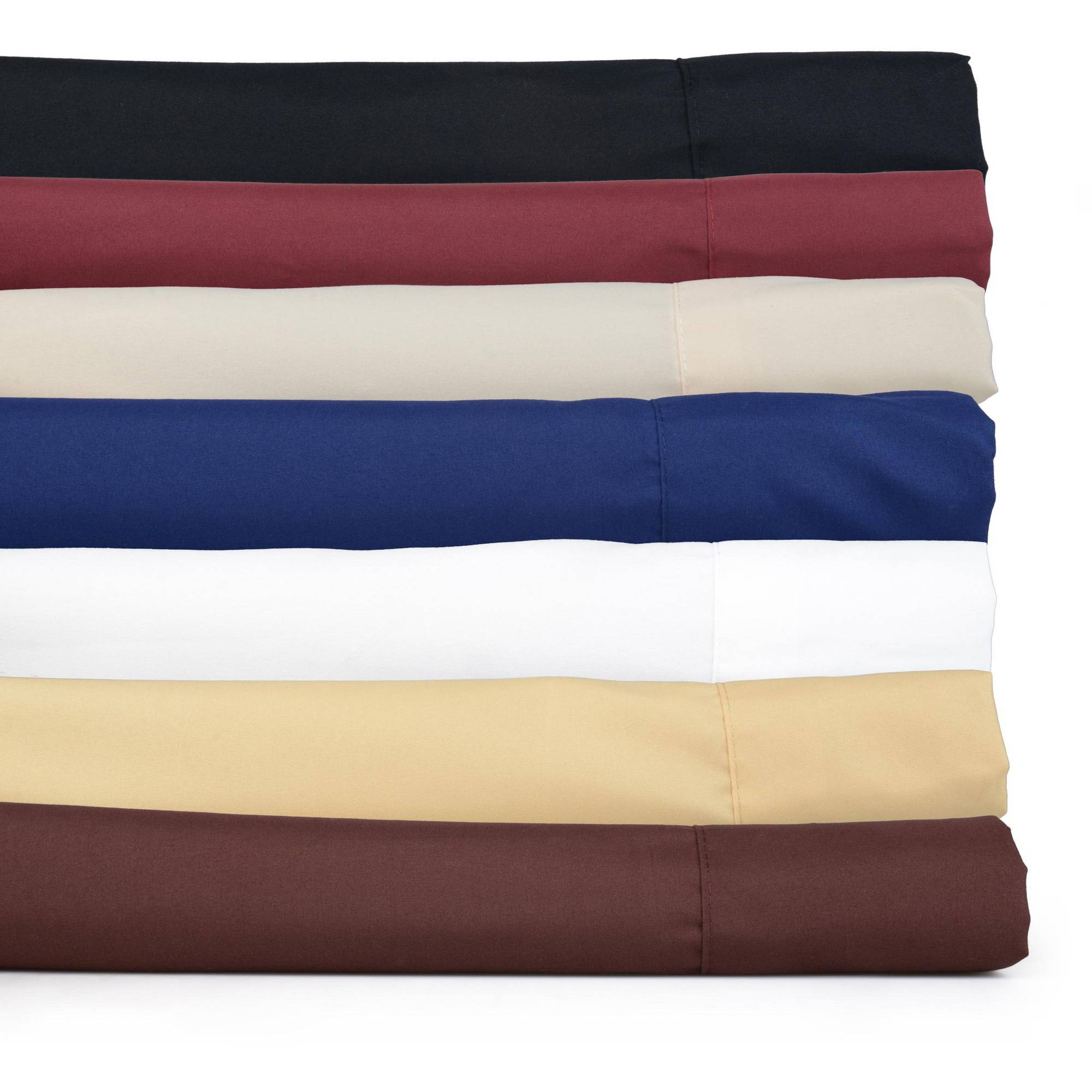 Brinley Home Wrinkle-Free Soft Microfiber Bedding Sheet Set