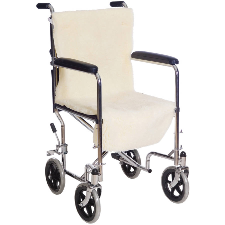 Essential Medical Supply Sheepette Wheelchair Seat & Back