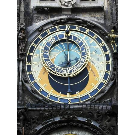 Prague Clock 1 Print Wall Art By Chris Bliss