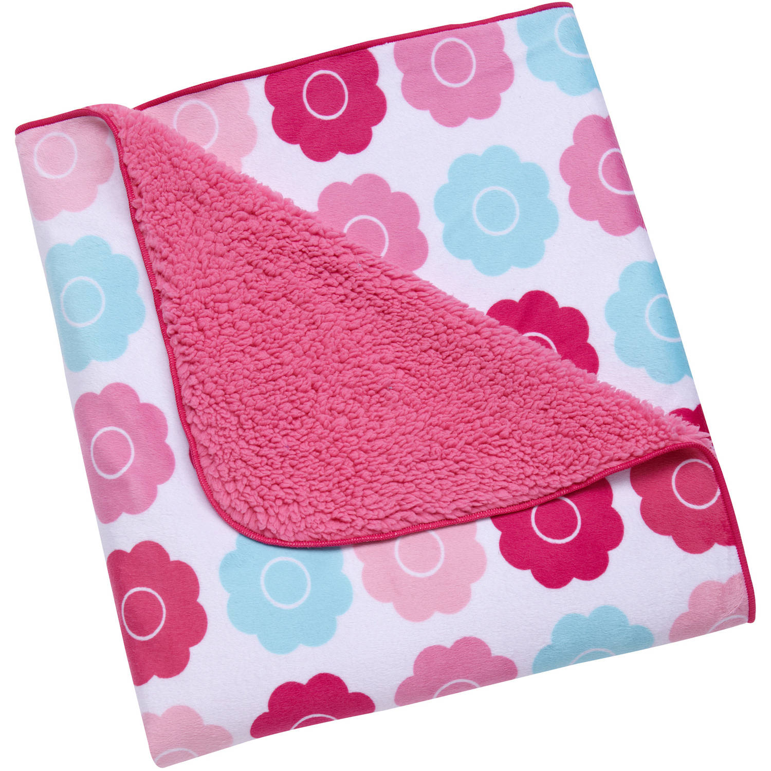 Tickled Pink Baby Blanket, Available in Multiple Materials