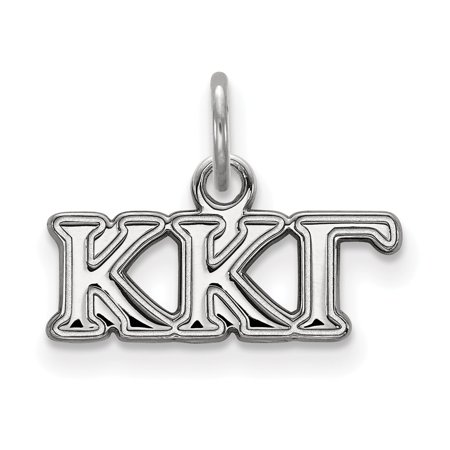 Sterling Silver Kappa Kappa Gamma XS Pendant LAL160497