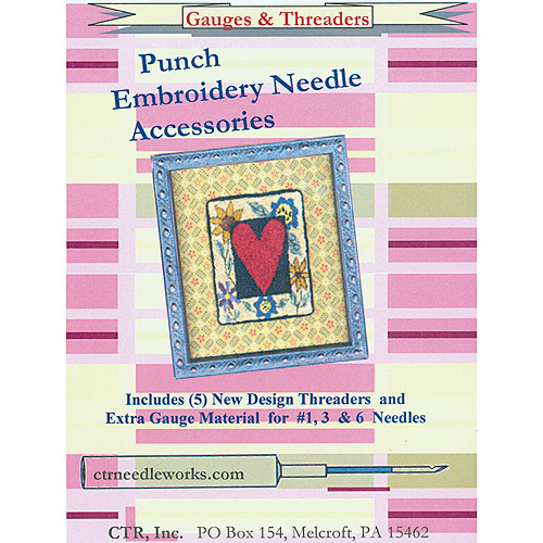 Punch Embroidery Set