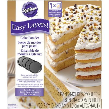 Wilton Easy Layers! Cake Pan Set, 8 in., 4 - Wilton Halloween Cake Pans