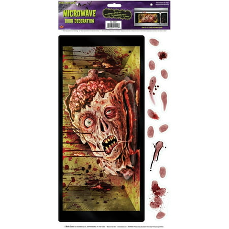 Microwave Door Halloween Decoration for $<!---->