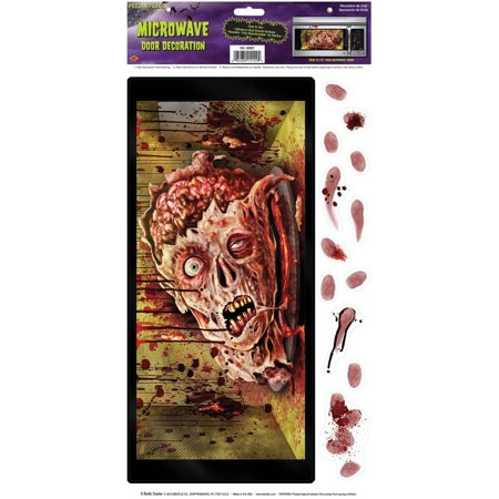 Microwave Door Halloween Decoration - Different Halloween Decorations