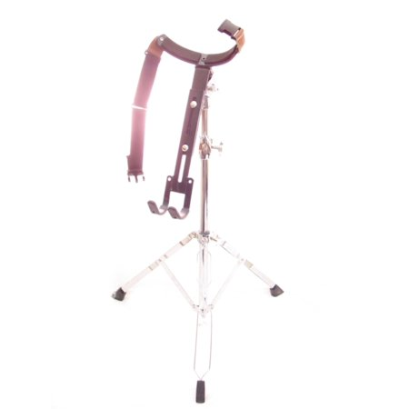 - double braced djembe stand - pro drum gear chrome new!