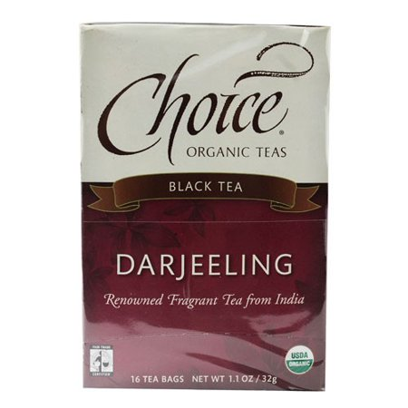 Darjeeling Tea-Organic Choice Organic Teas 16 Bag