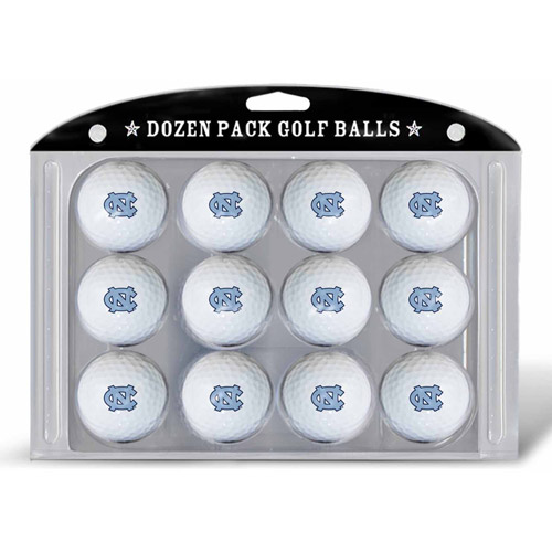 Team Golf NCAA North Carolina Golf Balls, 12 Pack