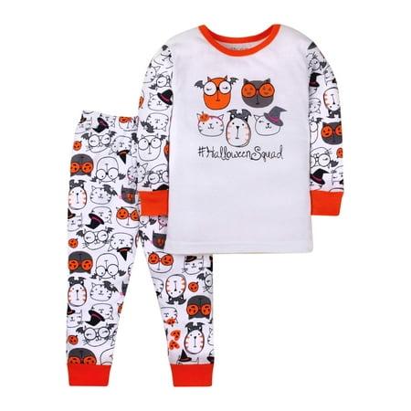 Halloween Cotton Tight Fit Pajamas, 2-piece Set (Toddler Girls) for $<!---->