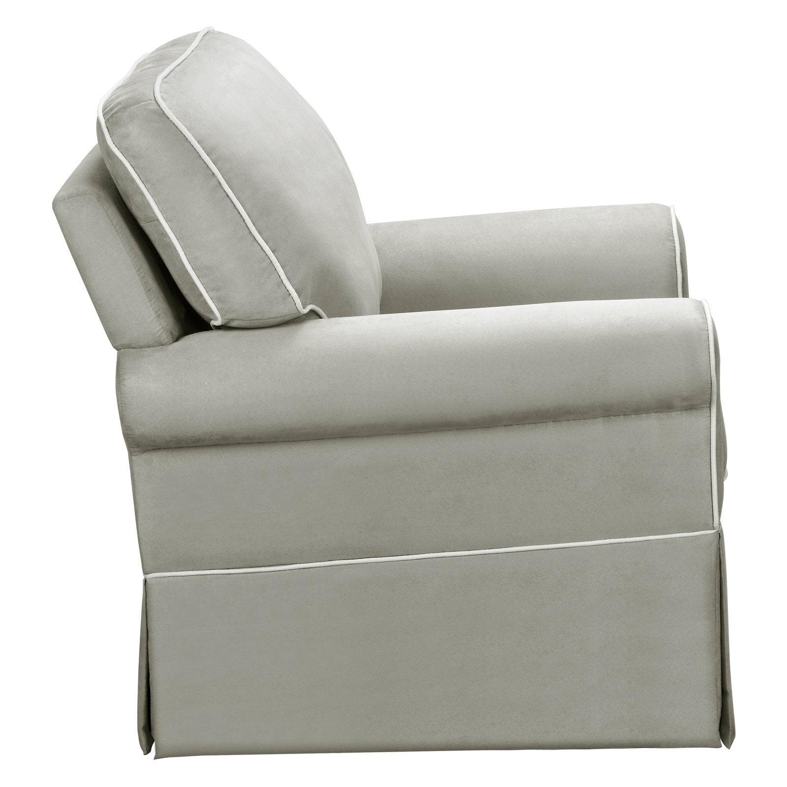 Dorel Upholstered Swivel Glider Walmart