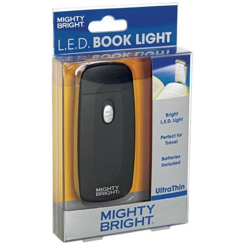 Mighty Bright 42310 UltraThin Book Light, Black by Mighty Bright