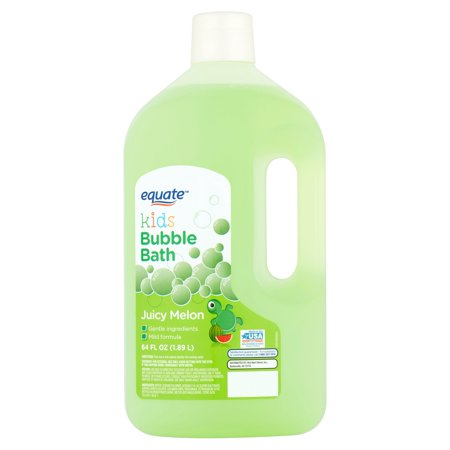 Equate Kids Juicy Melon Bubble Bath, 64 fl oz