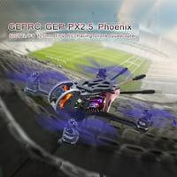 GEPRC GEP-PX2.5 Phoenix 600TVL Camera F4 Flight Controller 125mm FPV RC Racing Drone Quadcopter