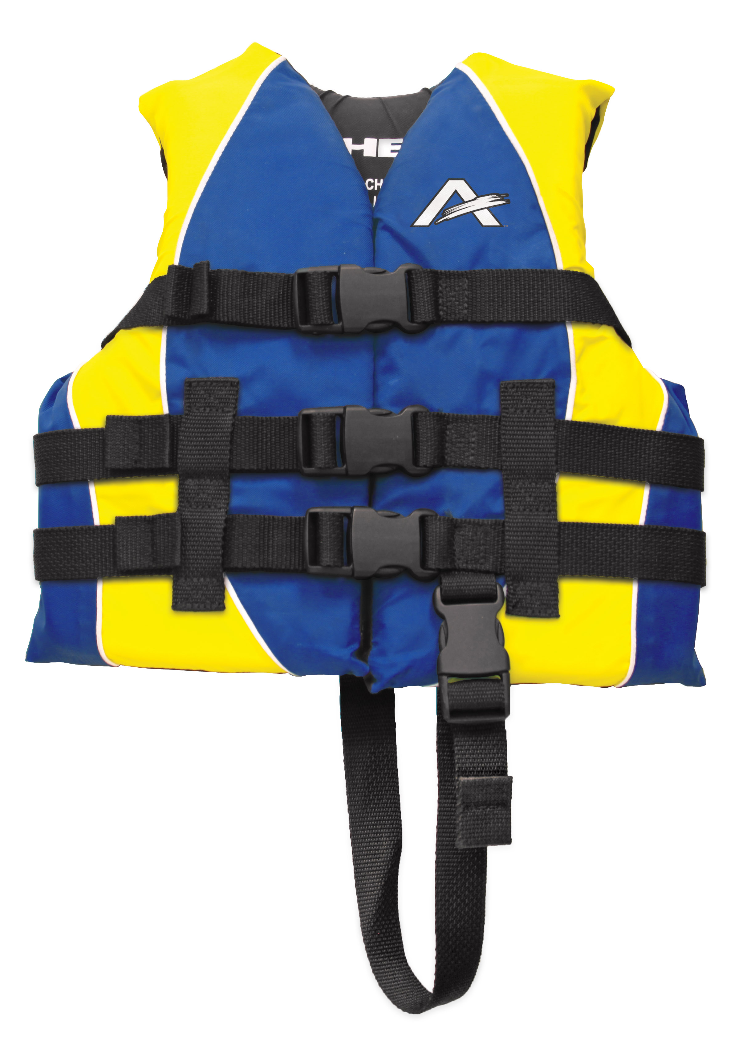 Blue Nylon Child Life Vest by AIRHEAD SPORTS GROUP
