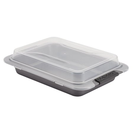 Anolon Bakeware Cake Pan (Anolon Advanced Nonstick Bakeware Covered Cake Pan With Silicone Grips - 9 -Inch X 13)