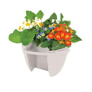 EmscoGroup 2464-1 BLOOMERS - POST PLANTER  FOR 4X4 POSTS  INCLUDES MOUNTING STRAP OR WOOD SCREW MOUNTING OPTIONS