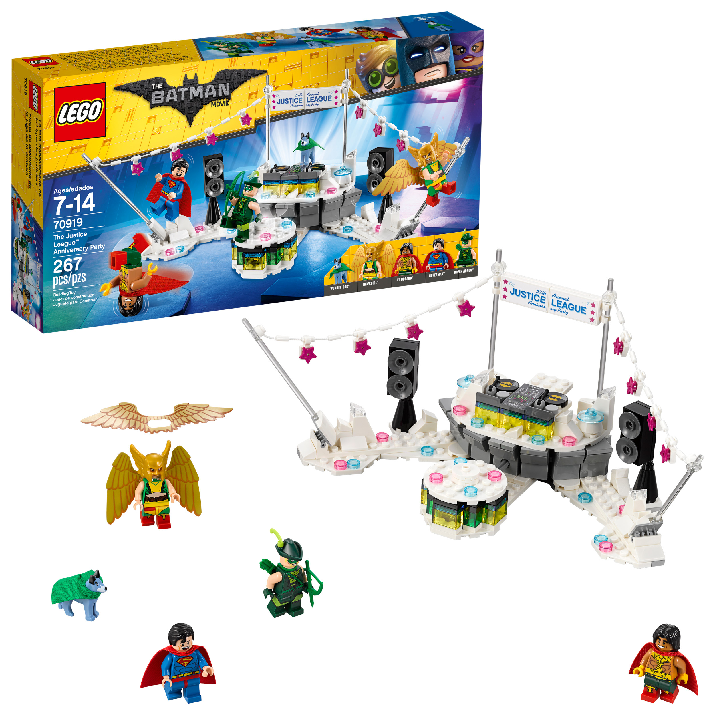 Lego Batman Movie The Justice League Anniversary Party 70919 by LEGO System Inc