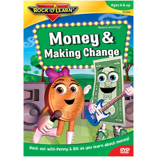 Rock N Learn Money & Making Change Dvd