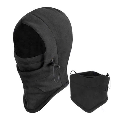 Girl12Queen Unisex Thermal Fleece Balaclava Hood Outdoors Ski Bike Wind Stopper Face Mask by 5.6