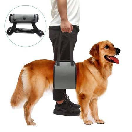 - LNKOO Vet Approved Dog Lift Support Harness Canine aid. Lifting Older Handle Injuries, Arthritis Weak hind Legs & Joints. Assist Sling Mobility & Rehabilitation