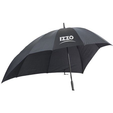 Izzo Golf Push Cart Umbrella, Black