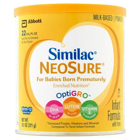 Similac Neosure Optigro Milk Based Powder Infant Formula