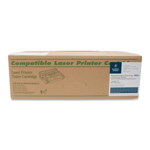 Business Source Remanufactured Toner Cartridge Alternative For HP 43X