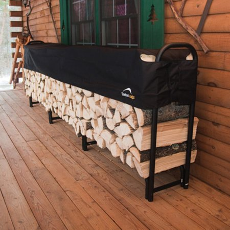 firewood rack in a box heavy duty rack with cover 12 - Firewood Rack